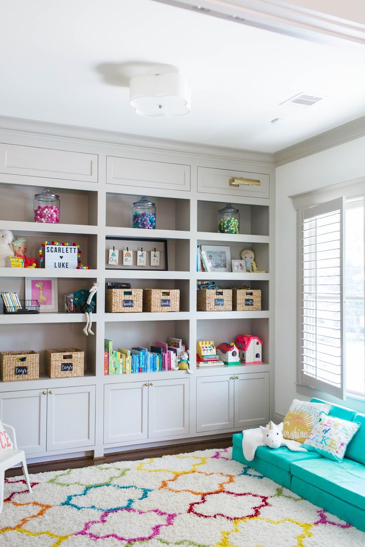 Playroom Inspiration for Smaller Spaces
