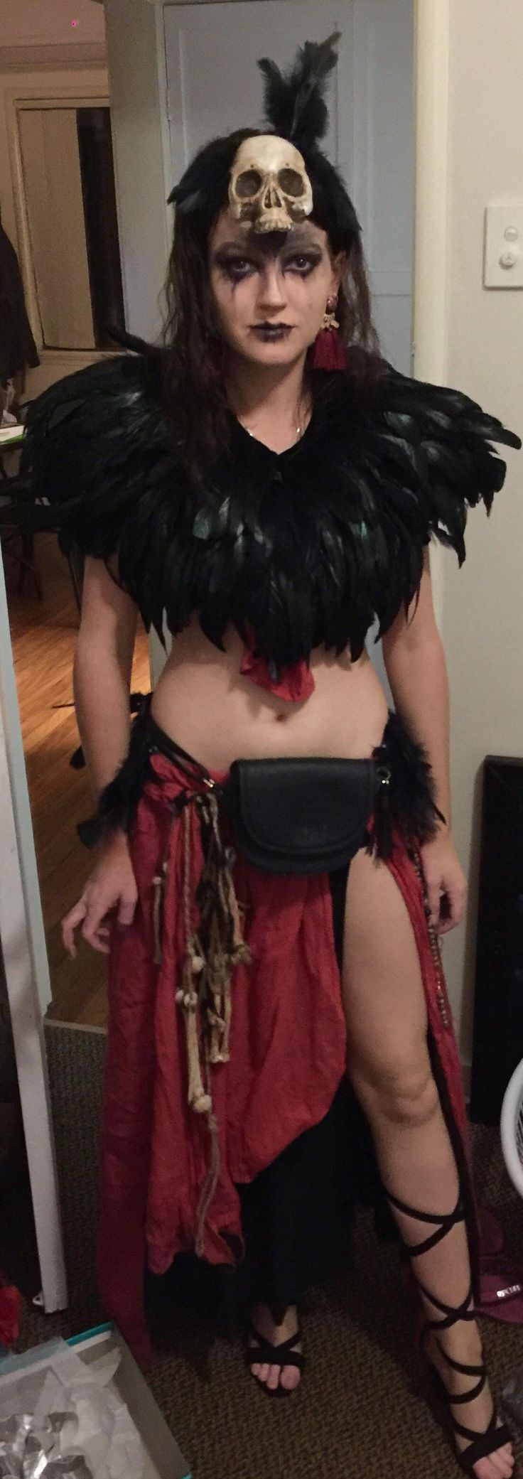 My (handmade for the most part) voodoo witch doctor costume https://i.redd.it/pac257g1rquz.jpg