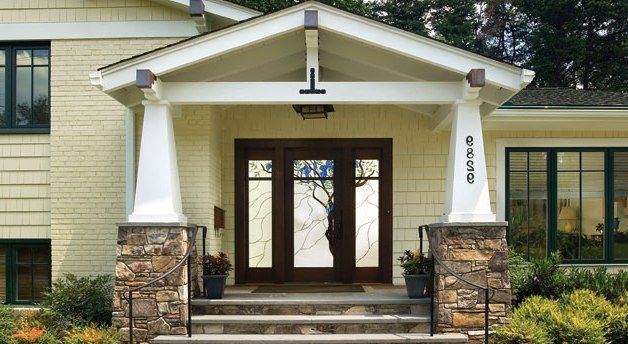 Split Level Home Home Remodeling And Front Door Design On Pinterest