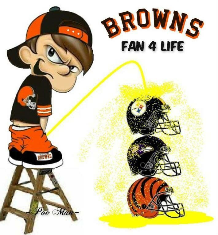Browns fan for life!