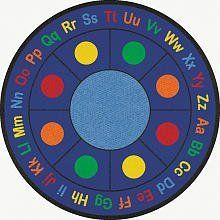 Learning Carpets CPR487 - ABC Dots Round, Small by Learning Carpets. $247.84
