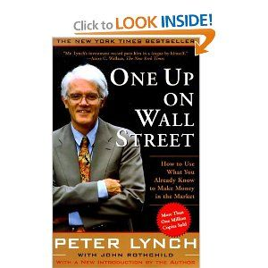 One Up On Wall Street: How To Use What You Already Know To Make Money In The Market  by Peter Lynch   http://www.amazon.com/gp/product/0743200403/ref=as_li_qf_sp_asin_il_tl?ie=UTF8=1789=9325=0743200403=as2=onthemonewi0b-20