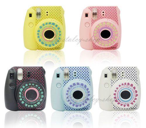 5 Colors Sunflowers Instant Mini 8 Decoration Sticker Instax For Fuji Polaroid