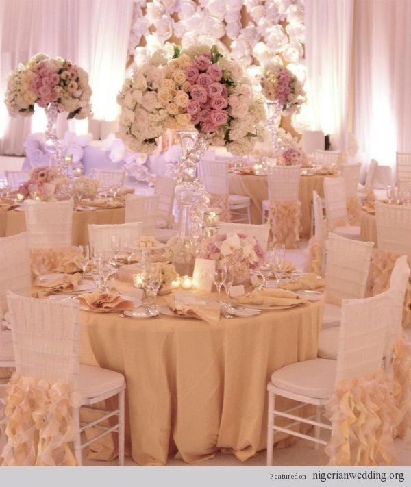 25 best ideas about wedding table covers on pinterest for Wedding reception table linen ideas