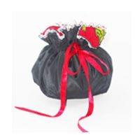 Shopibiz presents latest Jewellery pouch this beautiful drawstring bag has eight interior pocket plus a large one in the middle of the bag. This is the perfect bag to hold your necklaces, earrings, rings and watches. while you travel or simply to carry your jewelry inside your purse.This is the perfect gift to give on any occasion