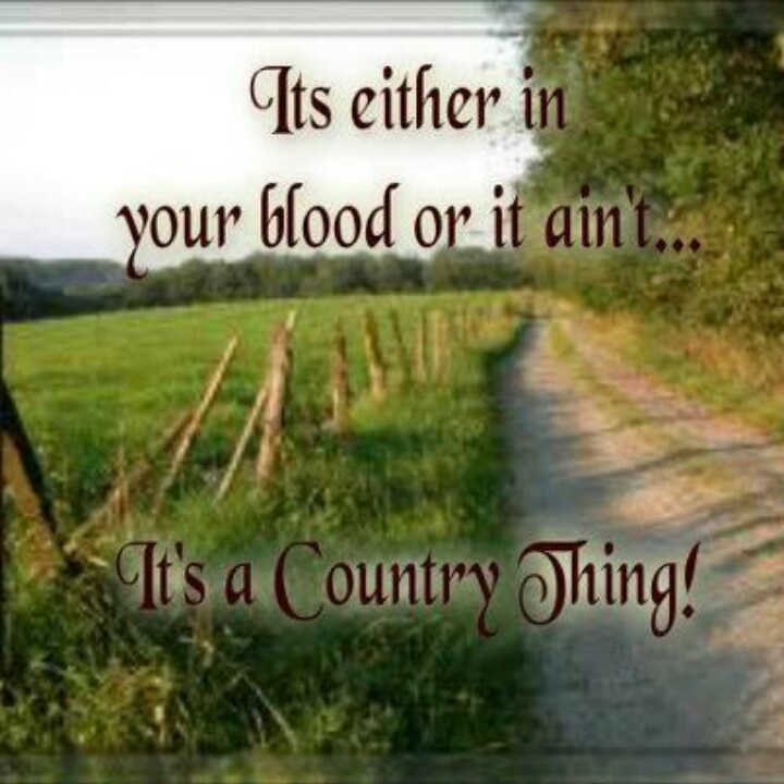 Country thing   Quotes...