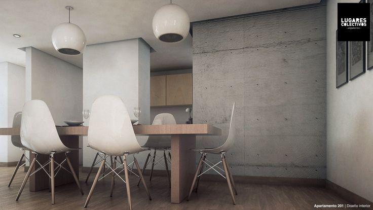 https://flic.kr/p/M1EXRy | Apartamento 201 | Diseño: Lugares Colectivos…