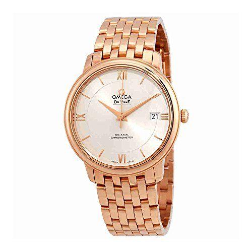 Omega De Ville Prestige Automatic Silver Dial Watch 424.50.37.20.02.001 ** You c...
