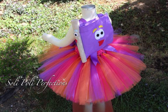 Dora the Explorer Inspired Tutu Dress & by SoliPoliPerfections