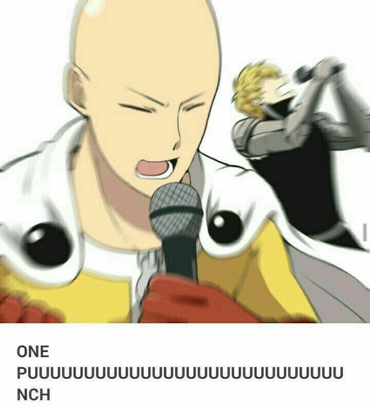 One punch man - Genos & Saitama