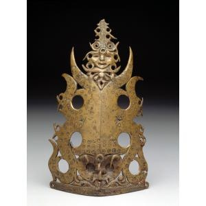Warrior's frontlet, Indonesia, 18th-19th century, Dallas Museum of Art