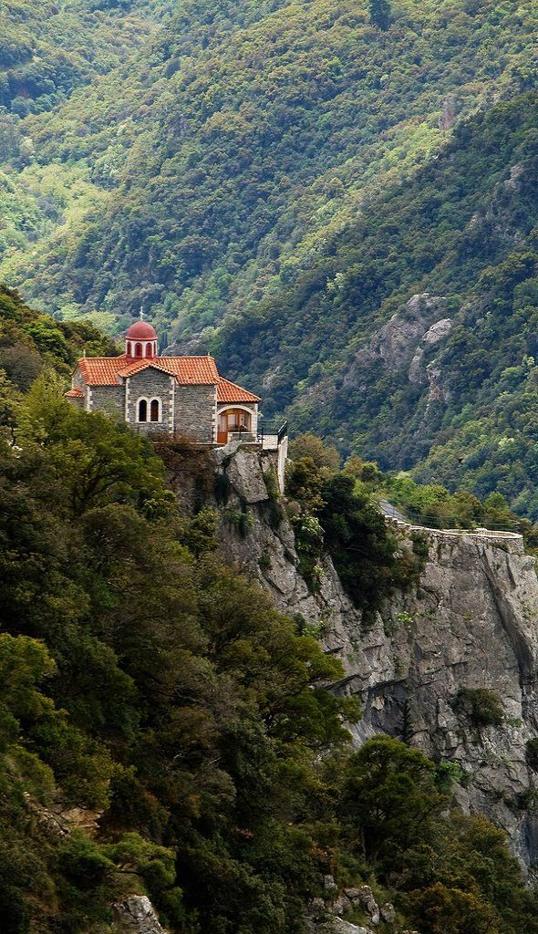 monastery.. Stemnitsa, Arcadia, Greece | Flickr - Photo by Macaroons