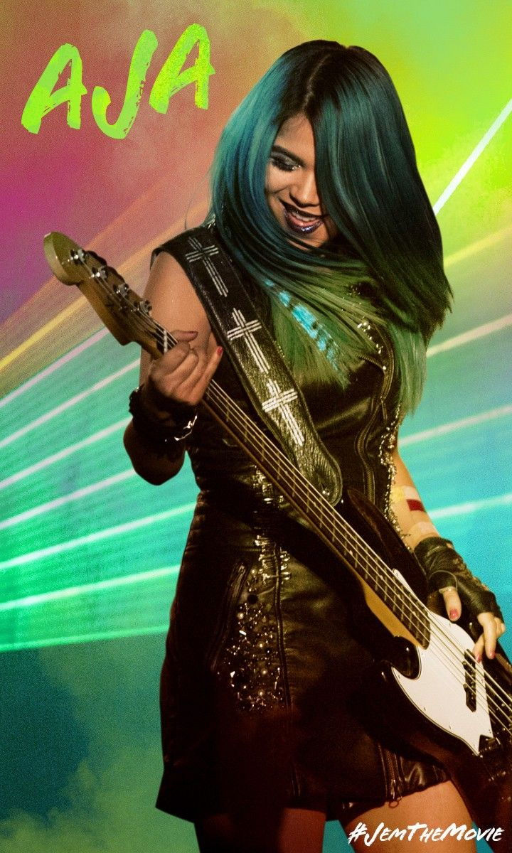 """""""If you got young blood, this is our time!"""" Jem and the Holograms"""