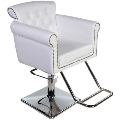 New beauty salon equipment white vintage hydraulic hair for Hydraulic chairs beauty salon