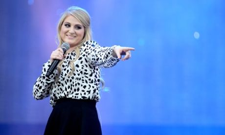 """Is Meghan Trainor's uber-hit All About That Bass anti-feminist?: Is the song, which crashed into the singles chart on Sunday, actually bad for women?"" What are your thoughts? The article writer doesn't think so, but I feel that some of the song lyrics are a bit problematic."