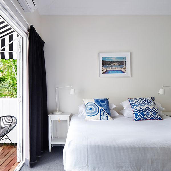 Your Byron Bay accommodation at the Atlantic is a collection of en-suited rooms, with options of tropical garden views through to a simple surf shack overnighter.  All of our rooms feature the usual amenities of private bathrooms with Aveda products, air conditioning, TV and king beds with crisp white linen. There's a lap pool to wash off the saltwater and don't
