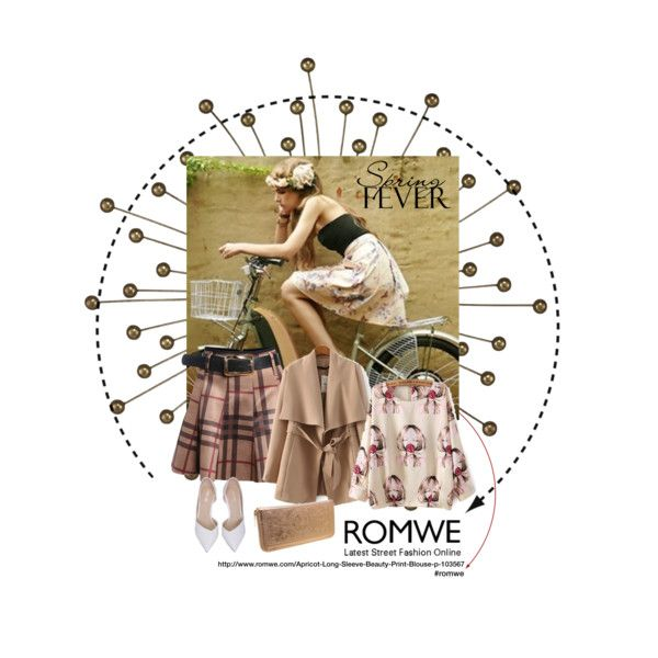 Golden Spring with ROMWE by farka-id on Polyvore featuring Sterling Industries and Brashy Couture