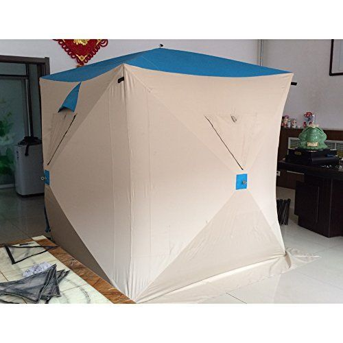 Introducing 25 Person Outdoor Quick Opening Tent Winter Windproof Ice Fishing Tent Style 3. Great product and follow us for more updates!