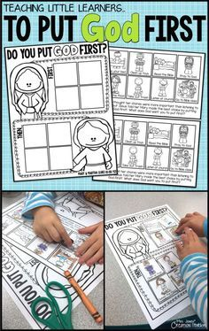 Mary and Martha: Preschool Bible Lesson - Mrs. Jones' Creation Station