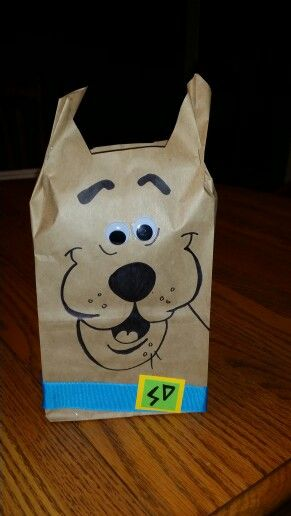 Scooby Doo Treat Bags Create Pinterest