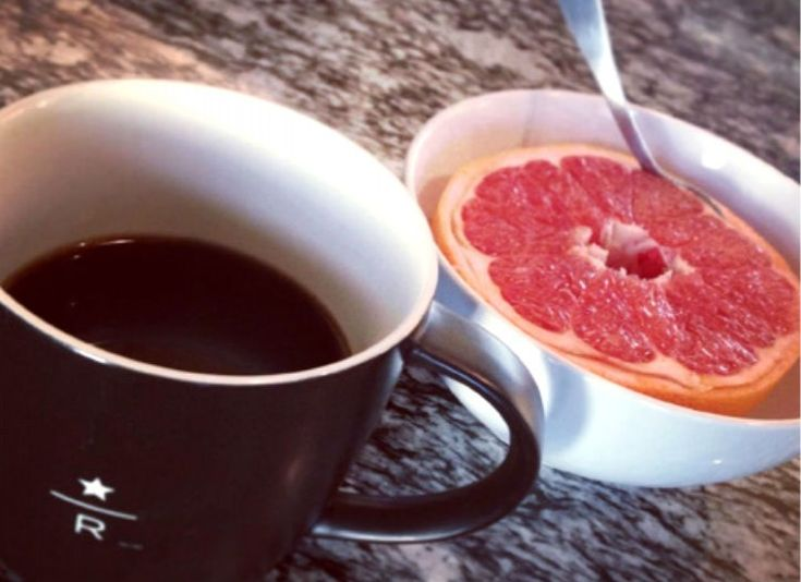 Boost Coffee's Effects With Grapefruit  The healthy fat in the fruit will help slow the absorption process of the caffeine in your body.