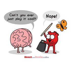 yeti heart brain coffee - Google Search