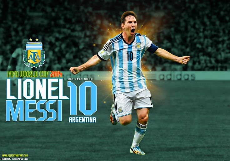 Lionel Messi Argentina World Cup 2014 Wallpaper by