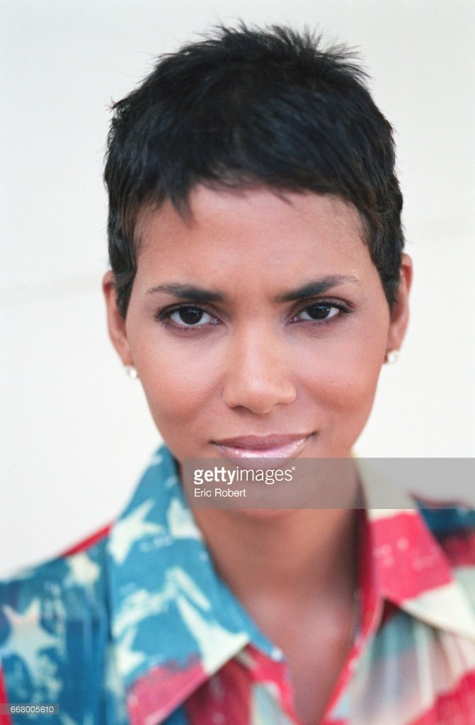 Portrait of Halle Berry who appears in 'Swordfish' the latest film by Dominic Sena.