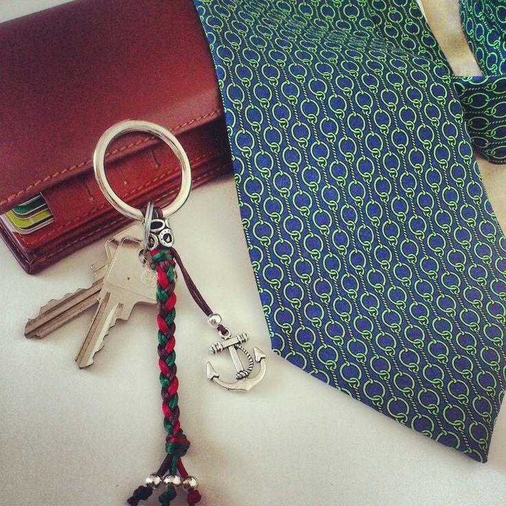 key-ring anchor men man fashion accessories accesorios shuuforyou handmade moda complementos llavero