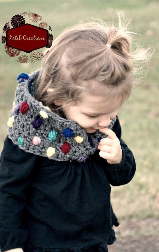 Puff Stitch cowl by KatiDCreations