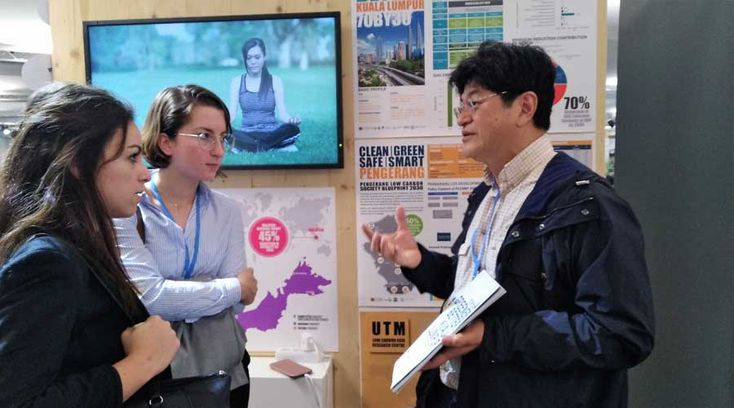 "UTM-LCARC Exhibits and Promotes Malaysia's ""Science to Action"" (S2A) Approach to City-level Climate Change Action Plan-making at COP 23 