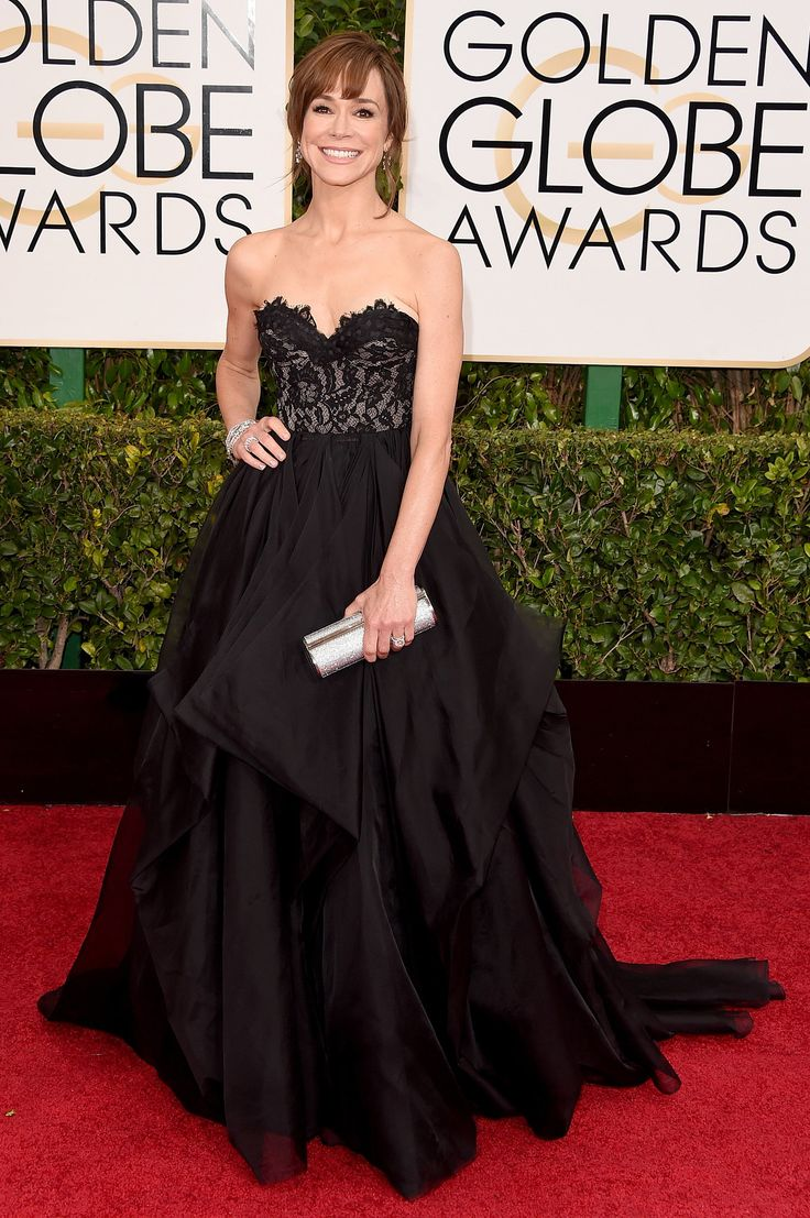 2015 Golden Globes Glamour! See the Best Dresses on the Red Carpet: Frances O'Connor