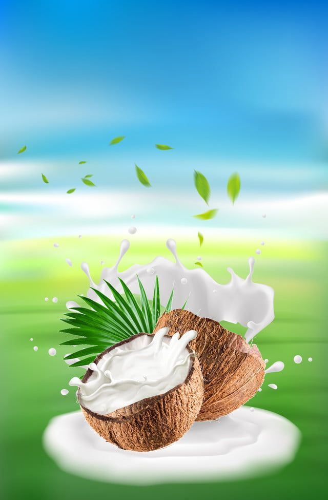 Summer Coconut Background Picture Coconut Background Pictures Peach Background