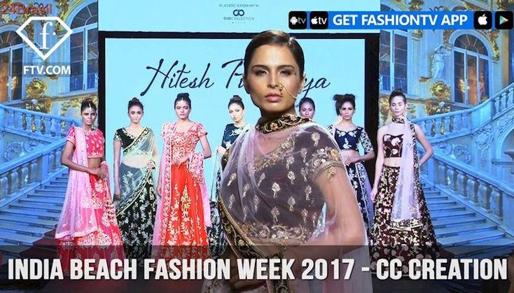 Hitesh Punamiya Showcases at India Beach Fashion Week Goa 2017 | FashionTV