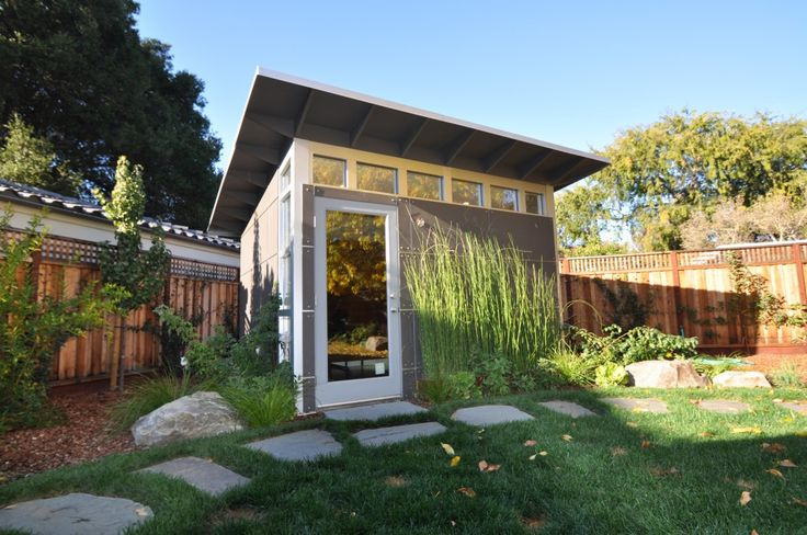 Backyard Sheds, Studios, Storage & Home Office Sheds   Modern Prefab Shed Kits