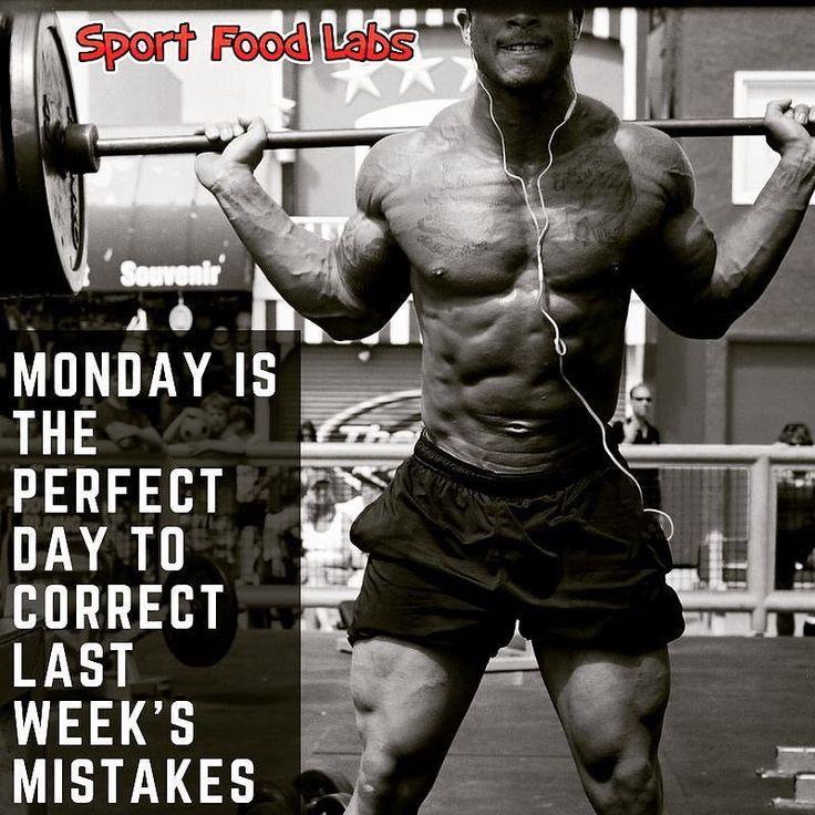 Monday Is The Perfect Day To Correct Last Week's Mistakes!    Lunedi È il Giorno Perfetto per Correggere gli Errori Della Settimana Scorsa     Follow Us @sportfoodlabs    Seguici @sportfoodlabs    Our Tags: #SportFoodLabs #Fuscle #FuscleTeam