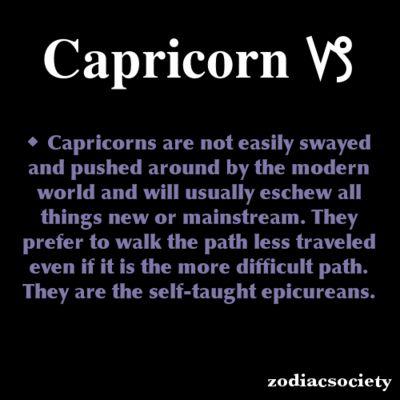 Capricorn Zodiac Facts: