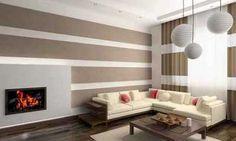 pared-pintada-a-rayas-horizontales