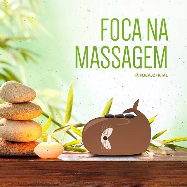 Feliz dia do Eu quero uma massagem!!! #bomdia #focanamassagem #foca #foco…