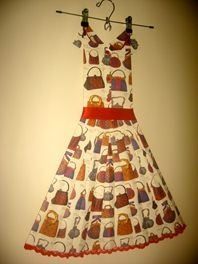 Modern Wall Art -Vintage Frock - Handbags