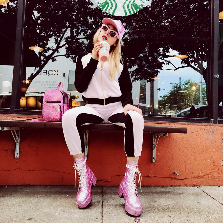 Get this look bb!! Top: http://www.dollskill.com/juicy-couture-velour-color-blocked-zip-up.html Bottoms:http://www.dollskill.com/juicy-couture-velour-color-blocked-silverlake-joggers.html Boots: http://www.dollskill.com/current-mood-twinkle-glitter-boots.html