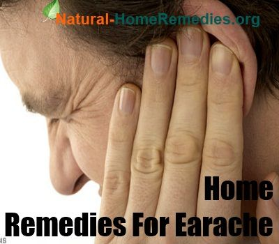 Earache Home Remedies - Earache Treatment - Natural Remedies & Cure for Earache