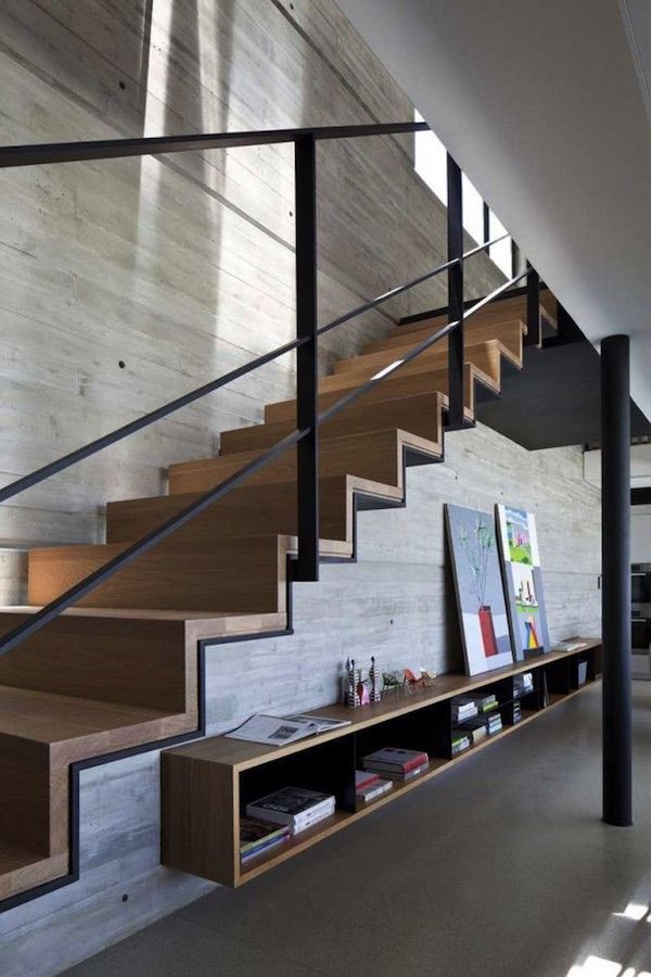 ideas para aprovechar el espacio escaleras interiores