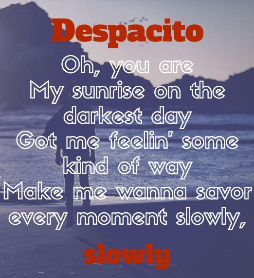 despacito lyrics justin bieber pdf