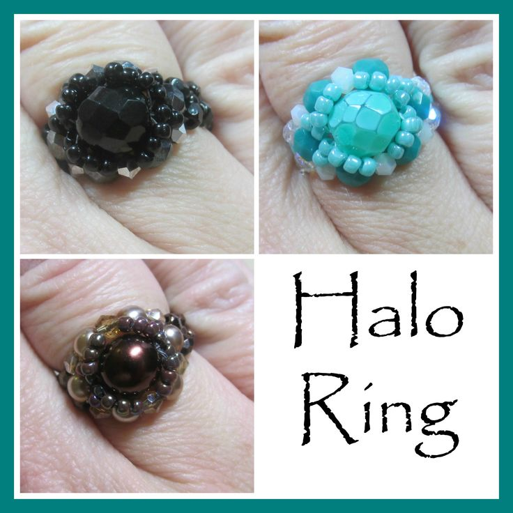 Kelly from Off the Beaded Path, in Forest City, North Carolina shows you how make a ring that goes with the past few weeks projects. We have materials used t...
