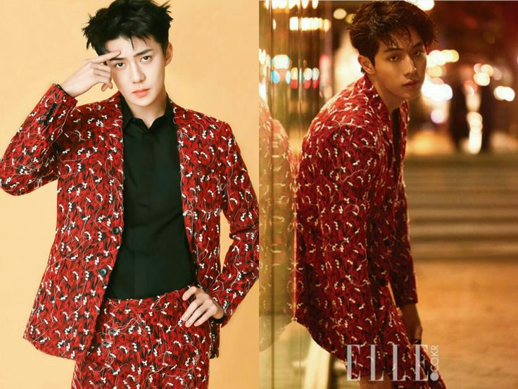 EXO Sehun X Nam Joo Hyuk  It's a TIE!!! Both look sexy af!