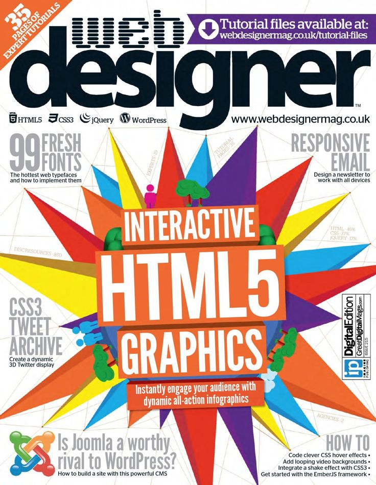 ISSUU - Issue 215 - Interactive HTML5 Graphics by Ricard Lázaro