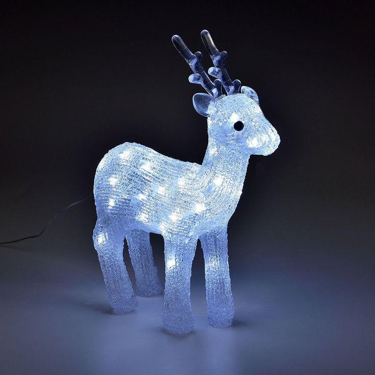 SSITG LED Rentier Weihnachts Deko