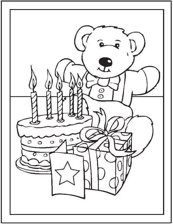 Trafarety Risunkov Na Temu Den Rozhdeniya 8 Tys Izobrazhenij Najdeno V Yandeks Kartinkah In 2020 Happy Birthday Coloring Pages Birthday Coloring Pages Mom Coloring Pages