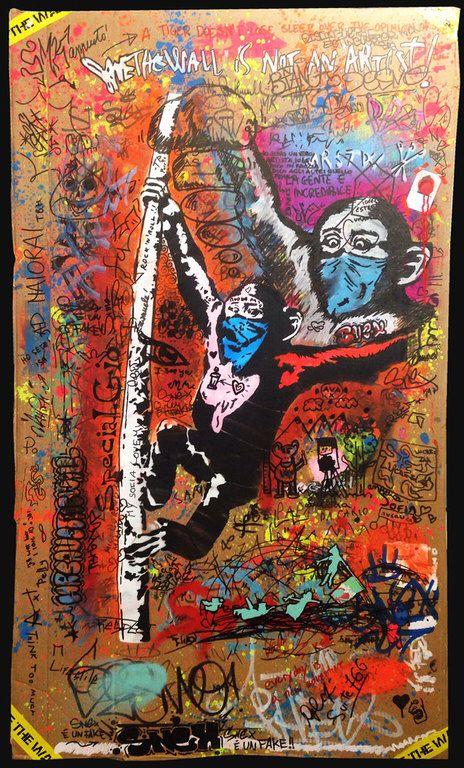 Bild von http://www.savethewall.it/wp-content/uploads/savethewall-is-not-an-artist-monkey.jpg